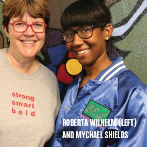 Roberta and Mychael