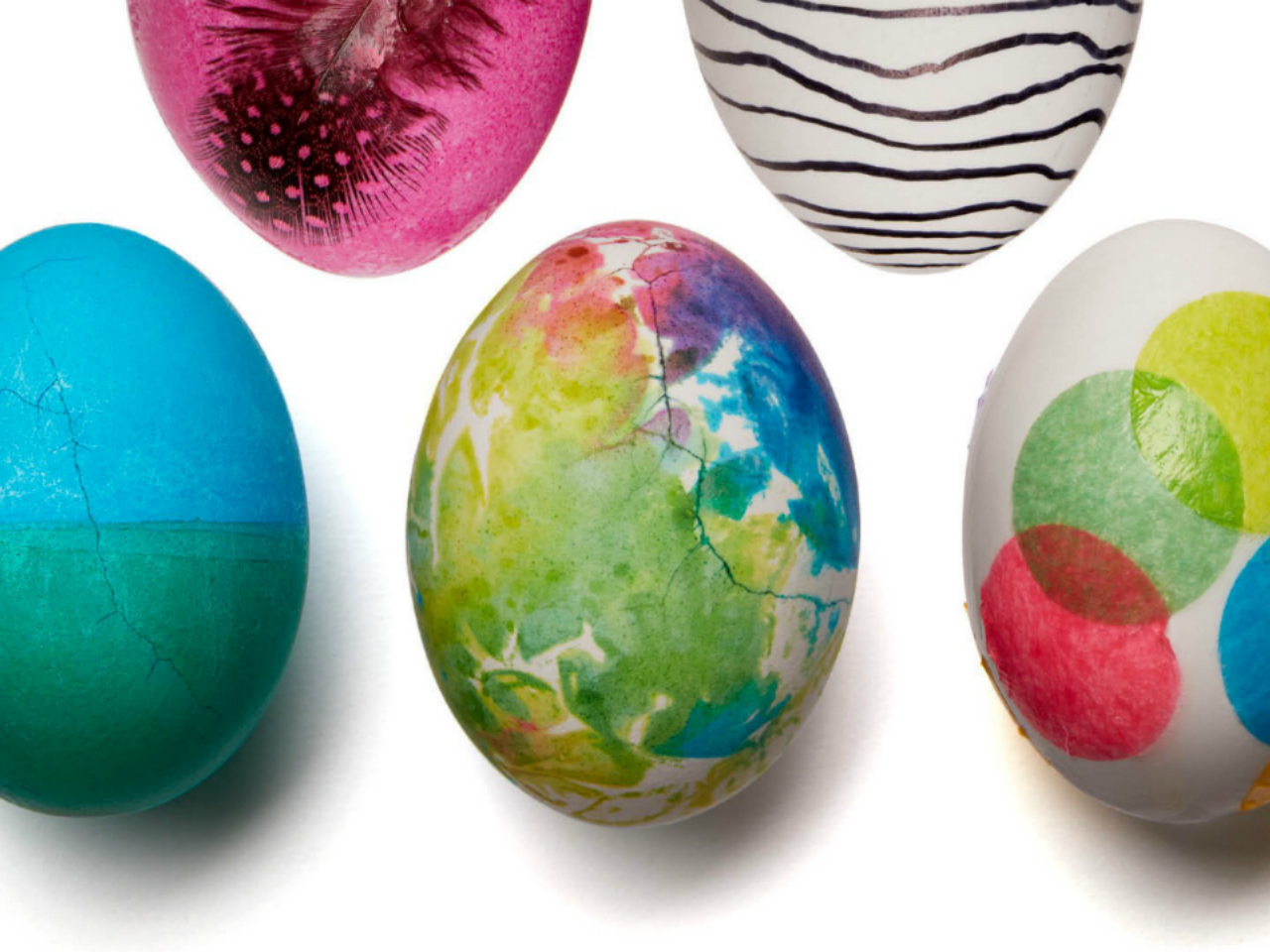 30 Fun Ways To Decorate Easter Eggs