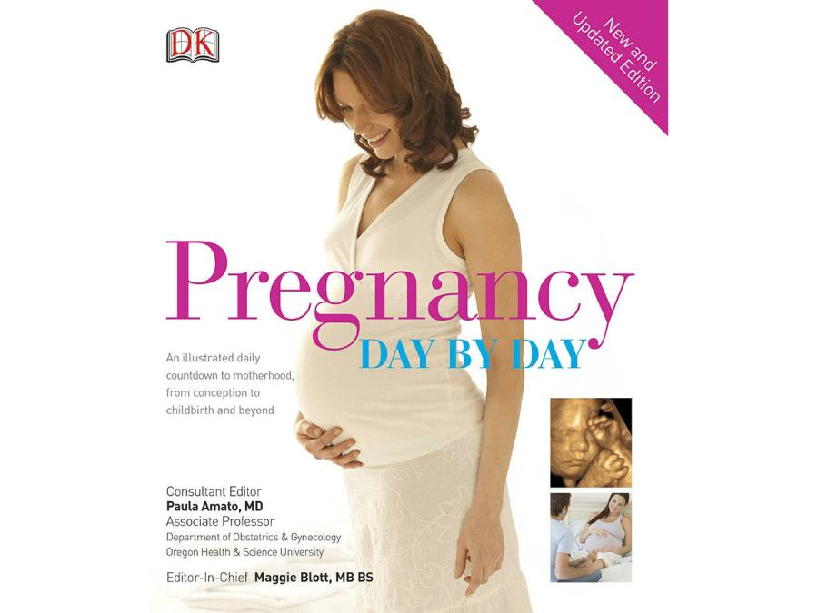 Cover of the pregnancy books Pregnancy Day by Day