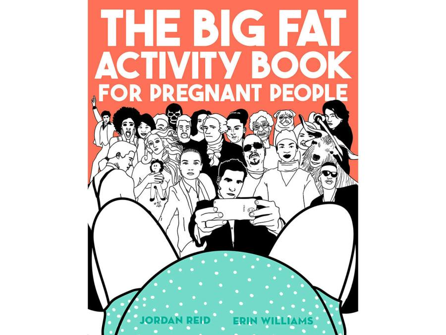 Cover of the Big Fat Activity Book for Pregnant People