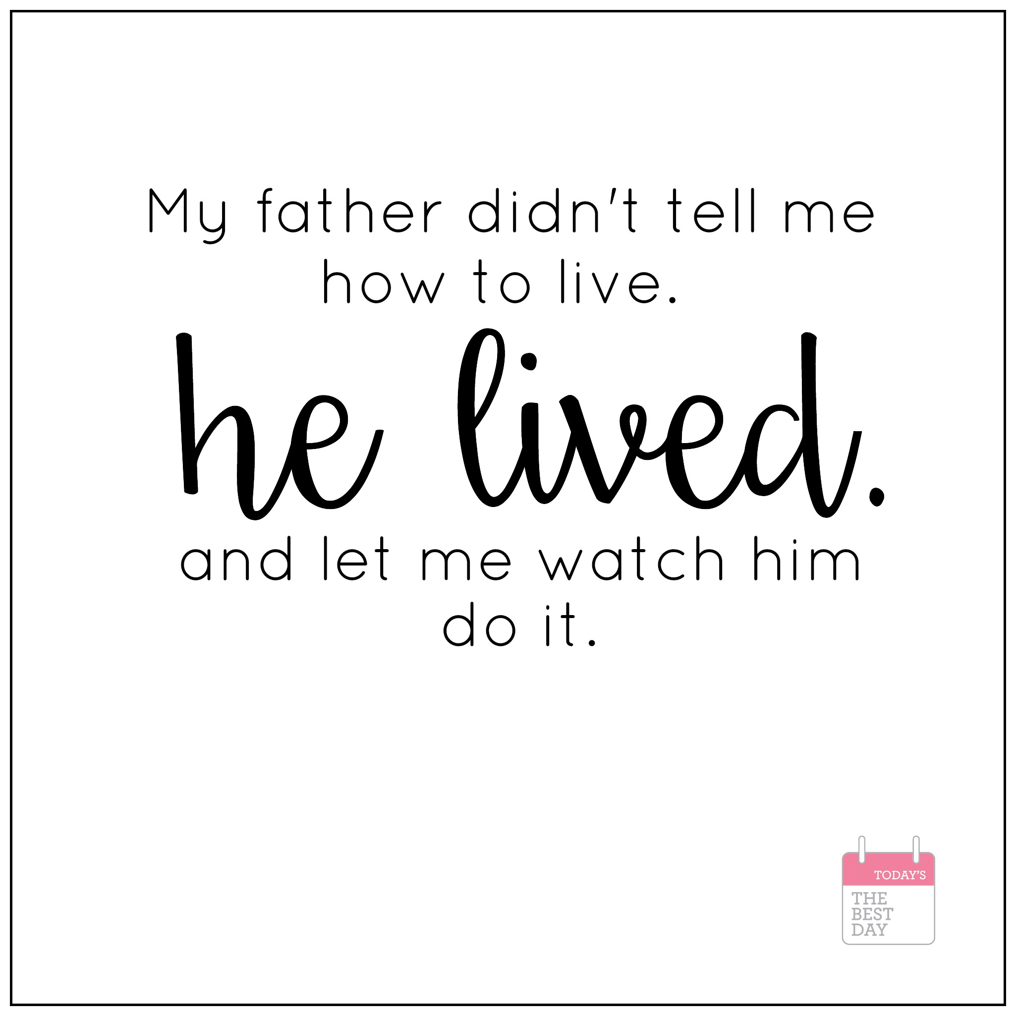 Father S Day Quotes Amp Printables