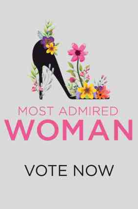 Vote Here for Our Most Admired Woman