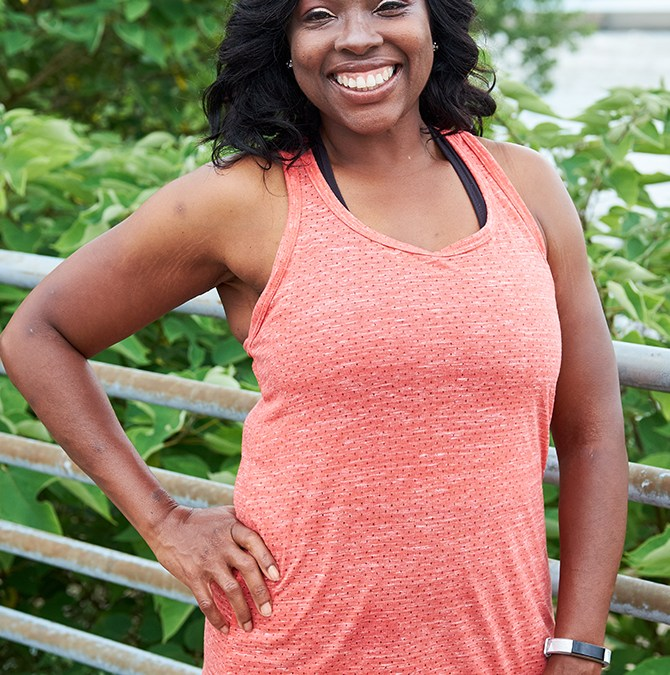 Her Sensible Approach to Food and Movement, Has Helped Her Lose Over 60 Pounds