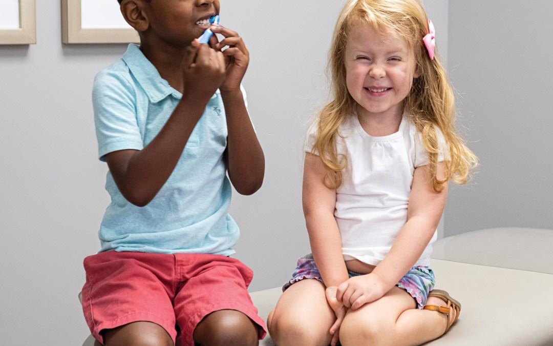 Three Healthy Habits for Kids' Teeth
