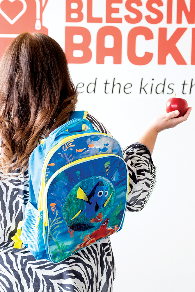 Gifts to Our Community: Blessings in a Backpack