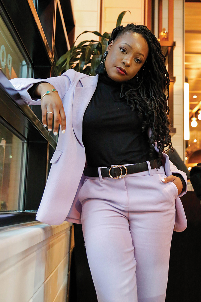 What I Am Wearing – Aisha Woodford