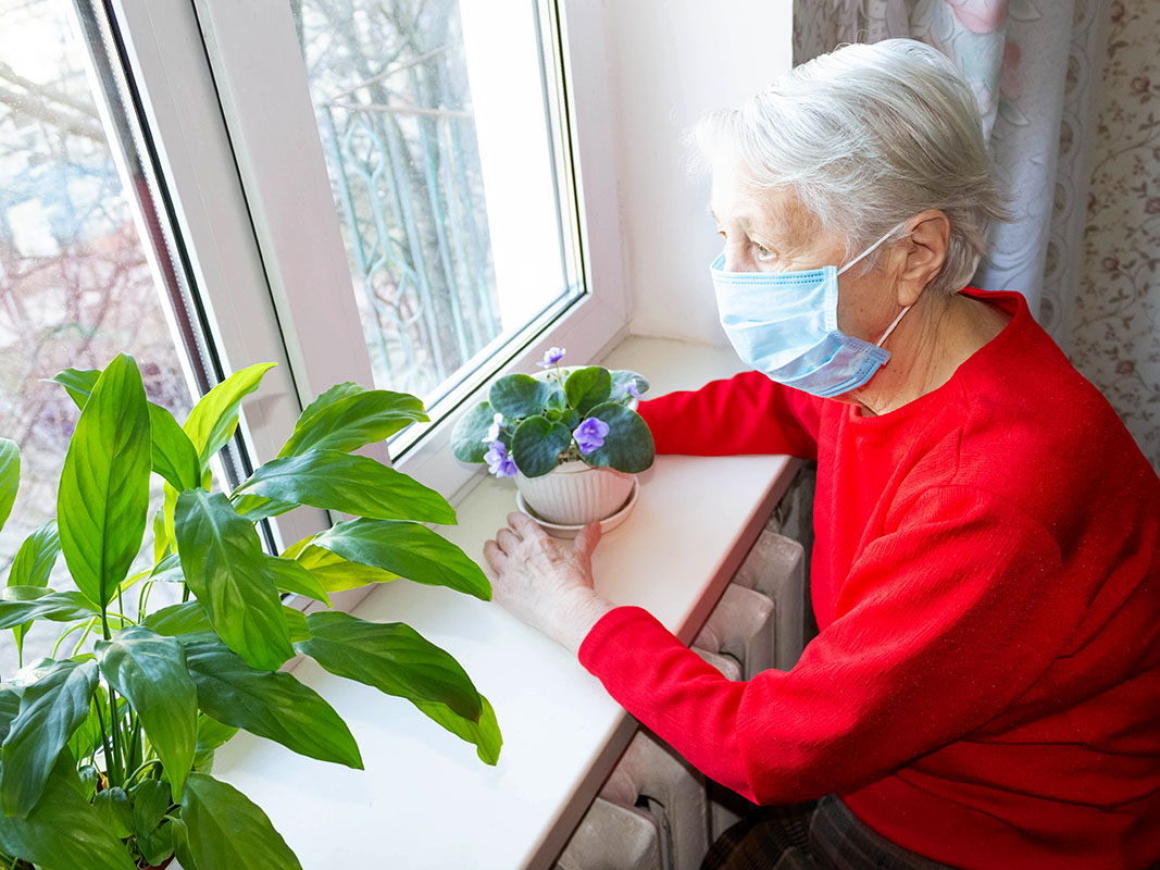 Social Isolation During Pandemic Can Take its Toll on Seniors