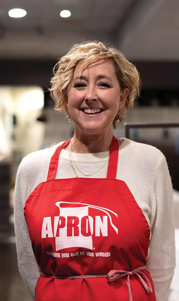Gifts To Our Community: Apron, Inc.