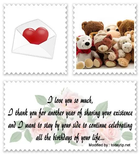 Birthday Love Wishes For Him Romantic Birthday Letters