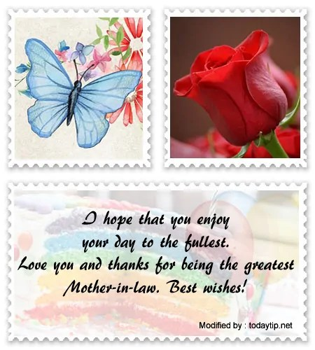 Cute Birthday Greetings For My Mother In Law Birthday Messages
