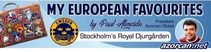 My European Favourites – Stockholm – Djurgården