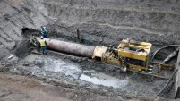 Pipeline between Blackfalds and Odour Management Facility