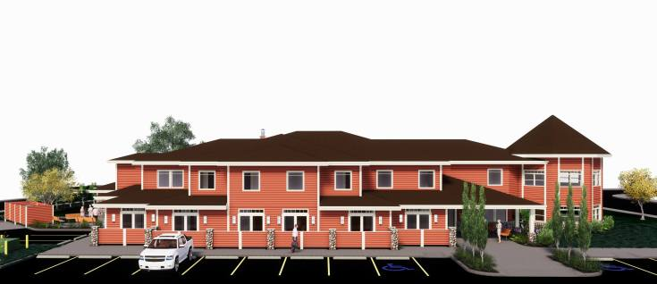Artist Rendering of Expanded Hospice