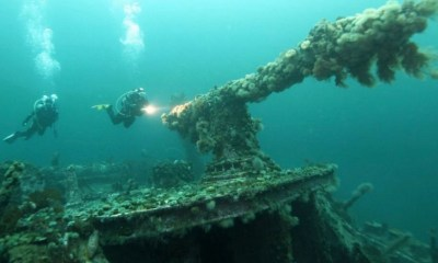 Armed forces to sweep explosives from Nazi-sunk ships