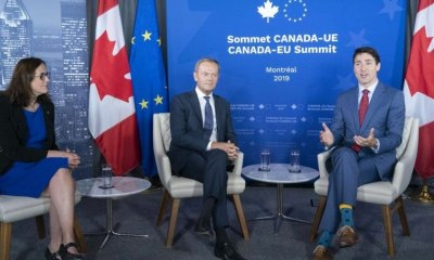 Trudeau, Tusk EU Summit