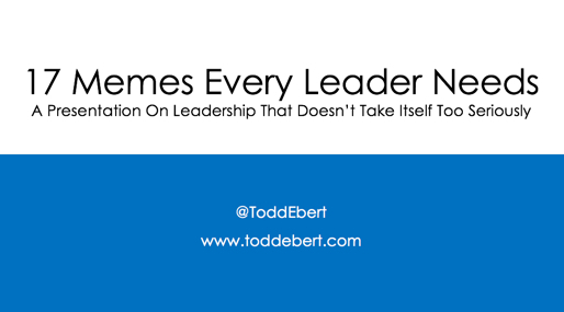 leadership memes