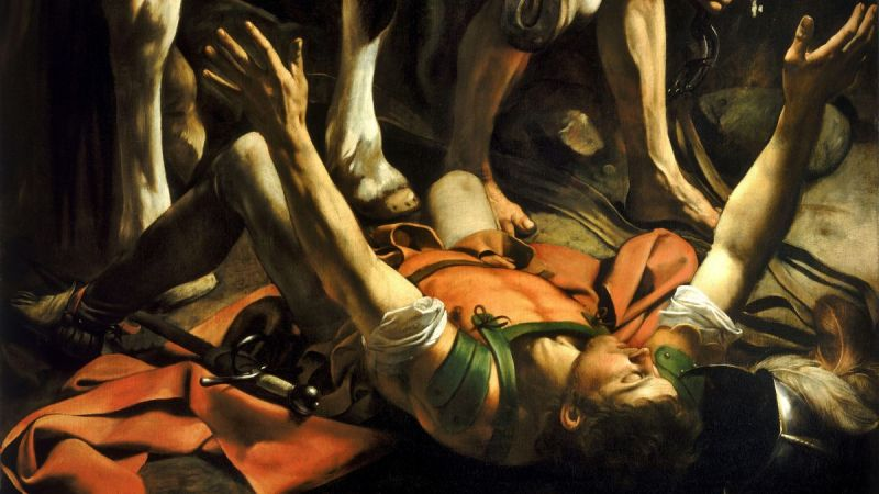 Carravagio's conversion of St. Paul