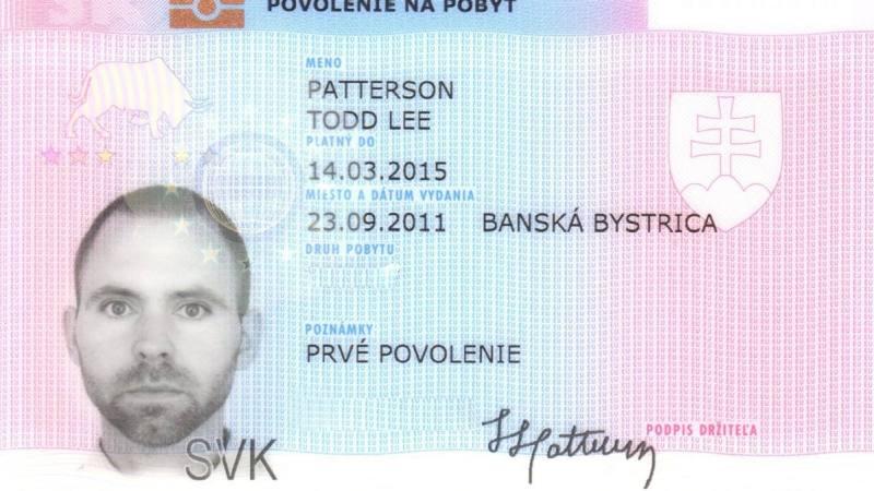 2015 Visa Todd front