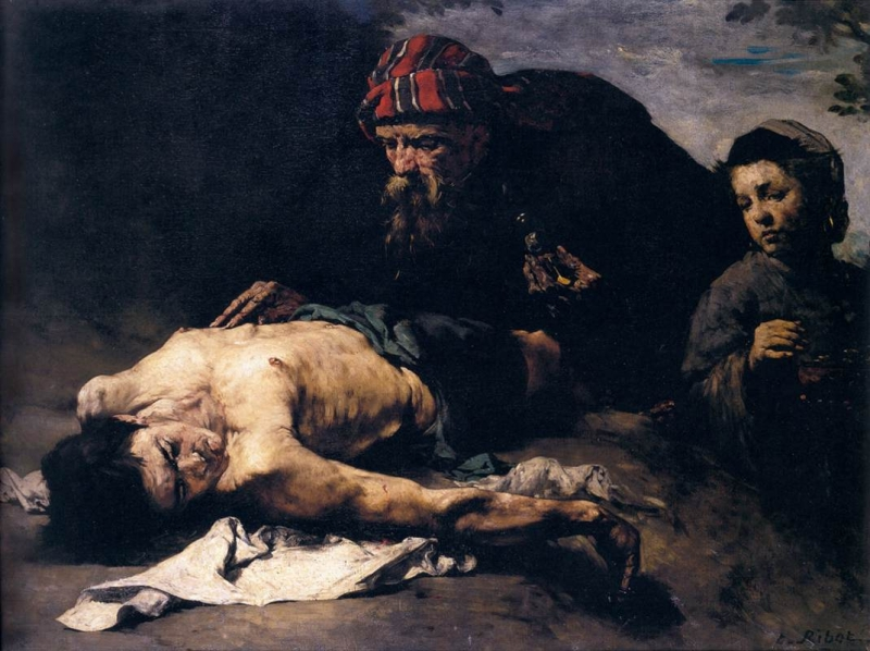 Ribot's The Good Samaritan