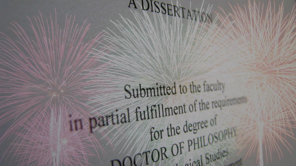 dissertation finale