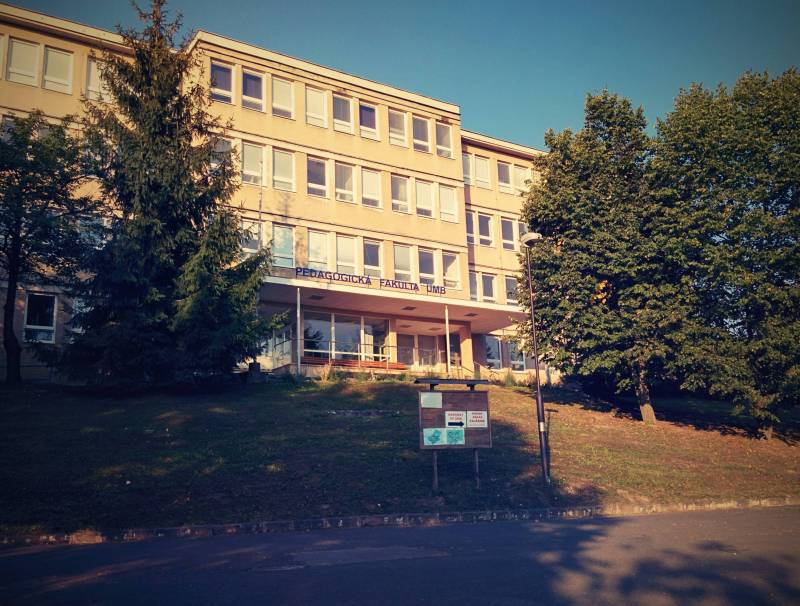Our seminary is a department in the College of Education at the University of Matej Bel in Banská Bystrica