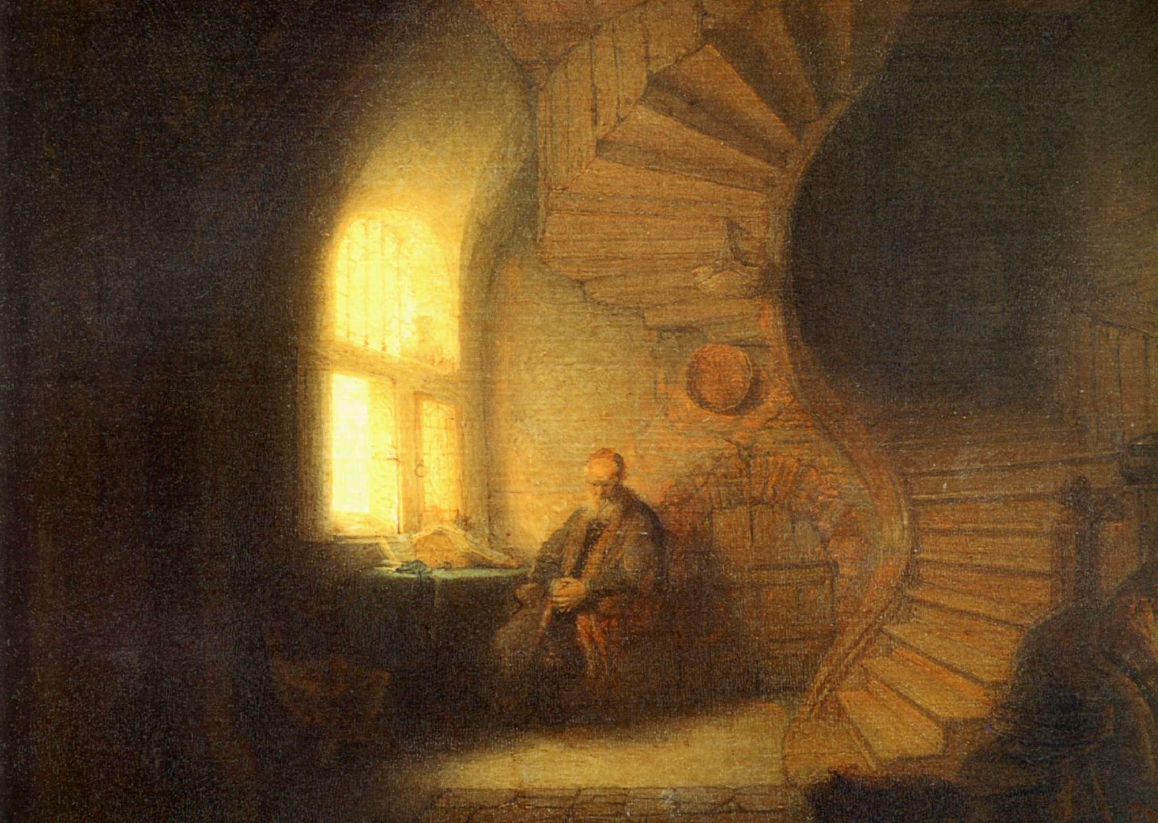Rembrandt-Philosophe-en-méditation-1632