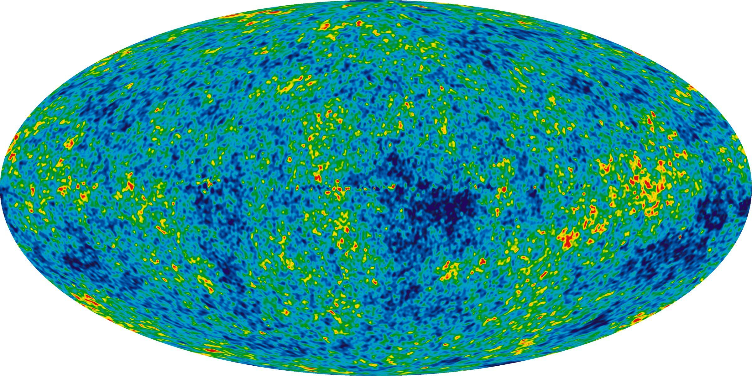microwave background radiation