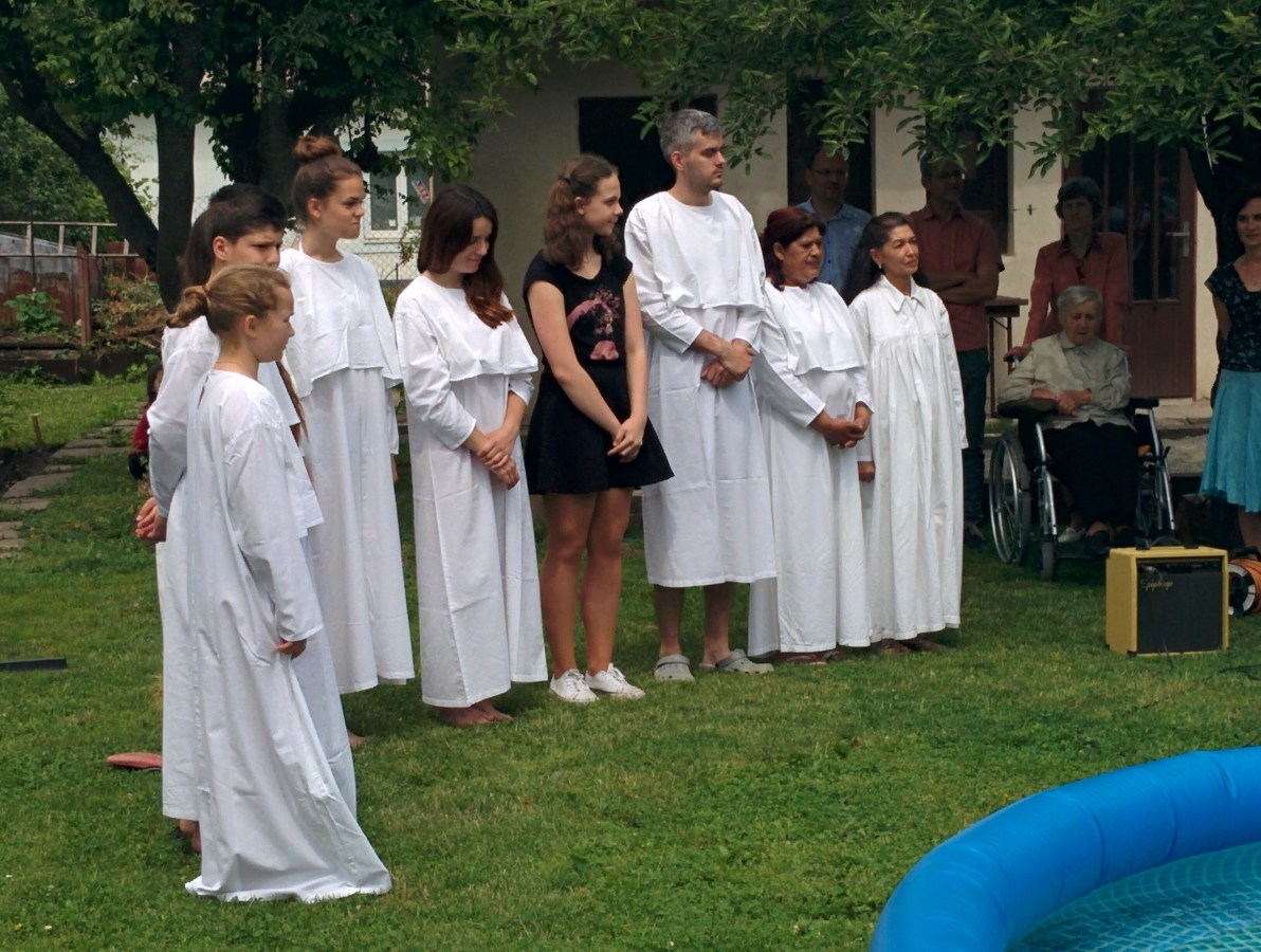 Nine People Baptized at our Annual Baptism Ceremony