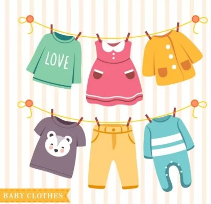 nice baby clothes hanging rope 23 2147522875