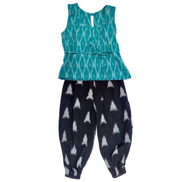Blue black joggers
