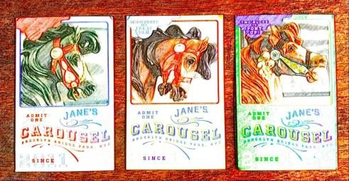 Jane's Carousel tickets, DUMBO