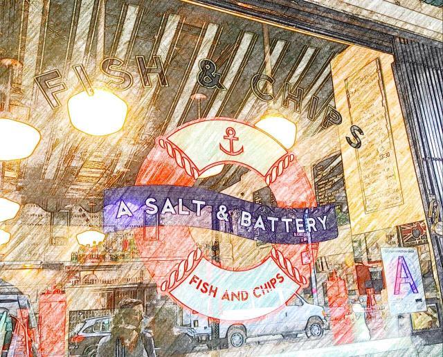A Salt & Battery, 112 Greenwich Avenue