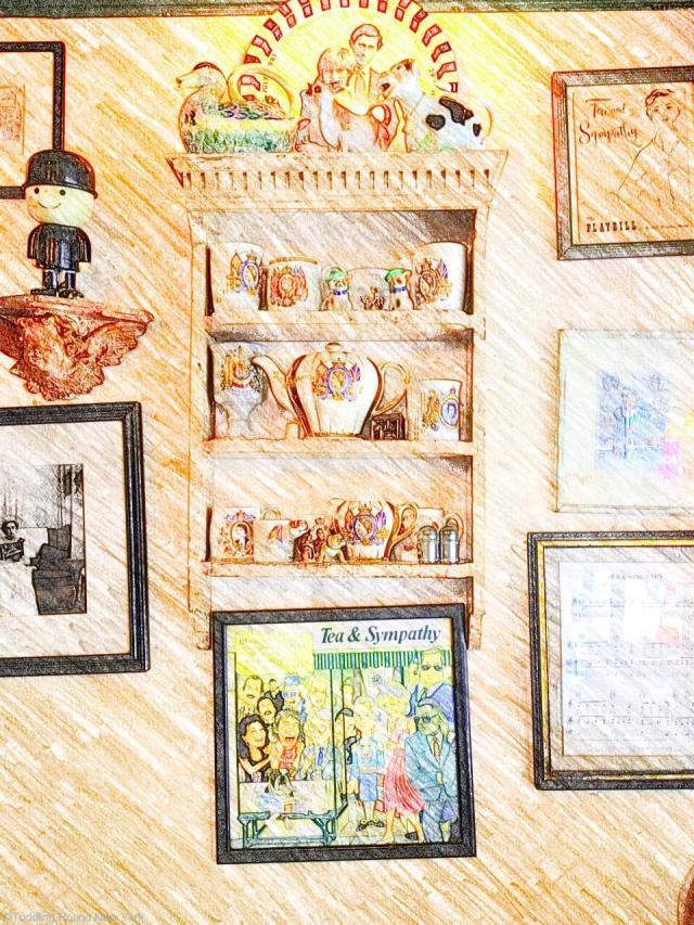 Tea & Sympathy's decor