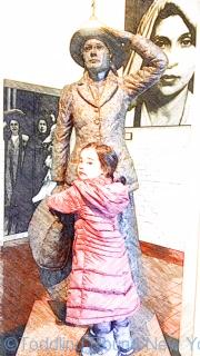 Annie Moore - the first immigrant to be processed through Ellis Island