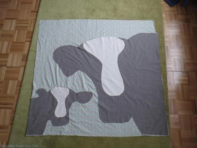 Cow quilt 14