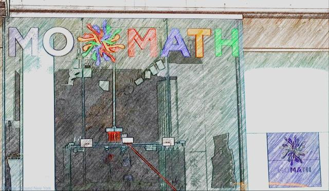 MoMath entrance