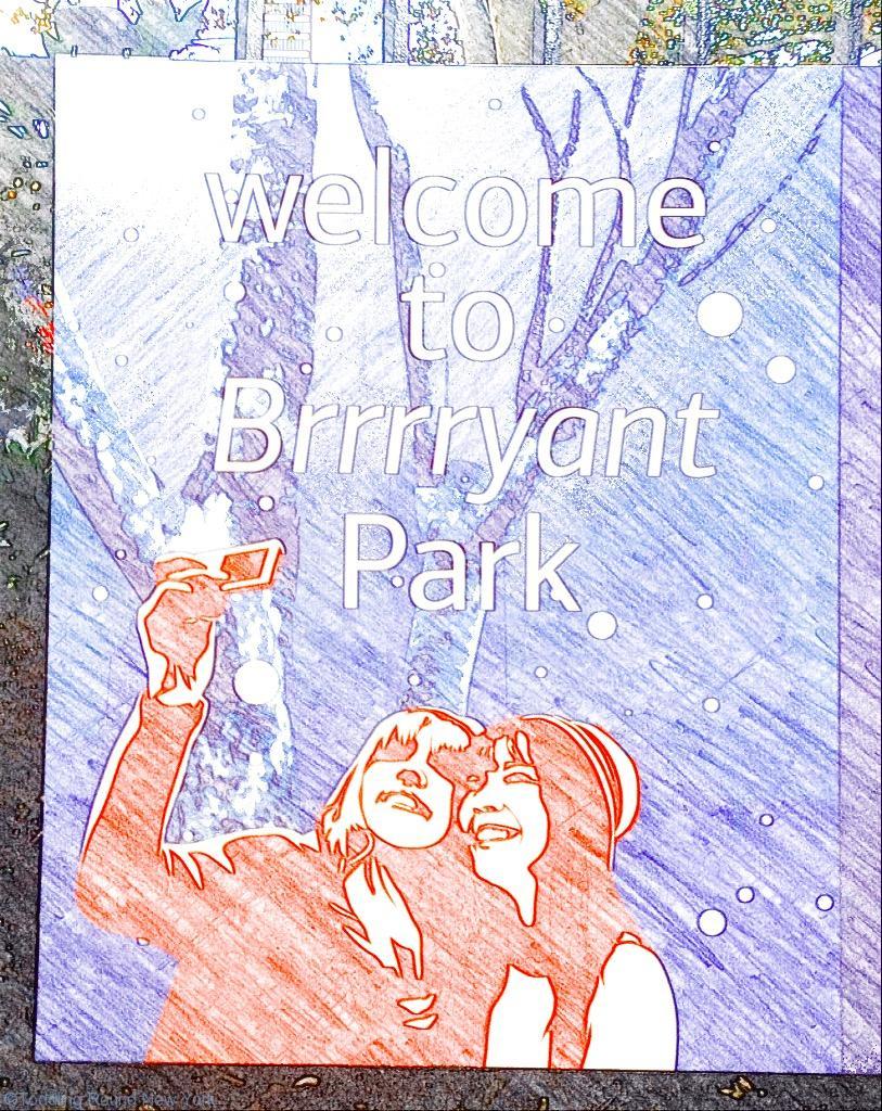 Welcome to Brrrryant Park - Bryant Park Winter Village