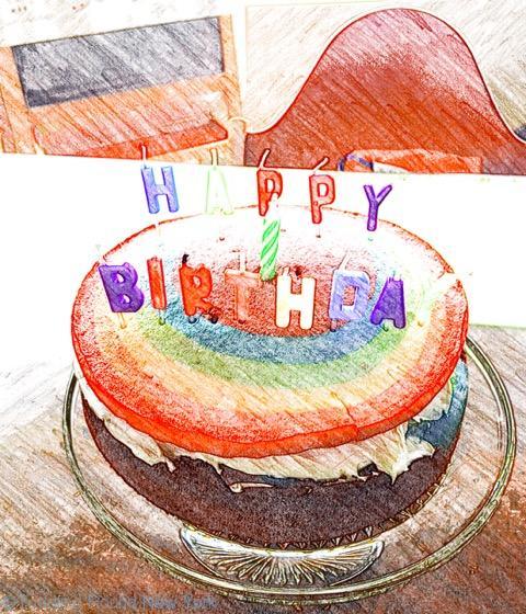 Baby J 1st birthday cake