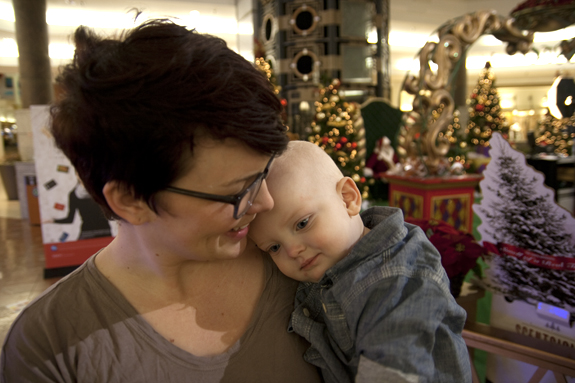 """""""Mother and Child"""" - Copyright 2012 Todd Littleton"""
