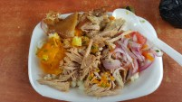 Our $4 lunch plate...best pork I have had in a long time