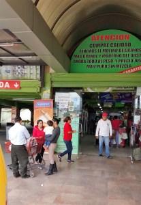 Entrance to Mega Tienda