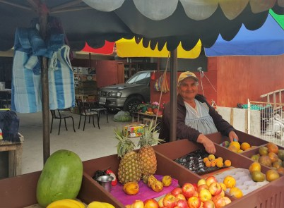 Fresh Fruit Stand