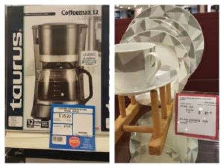 Coffee Brewer and Dish Set
