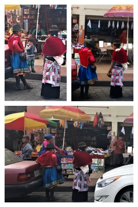 People at the Mercado