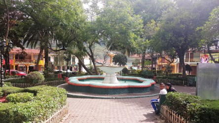 Vilcabamba fountain