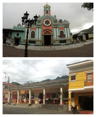 Buildings in Vilcabamba