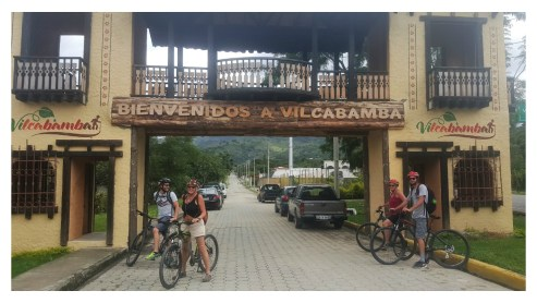 vilcabamba welcome