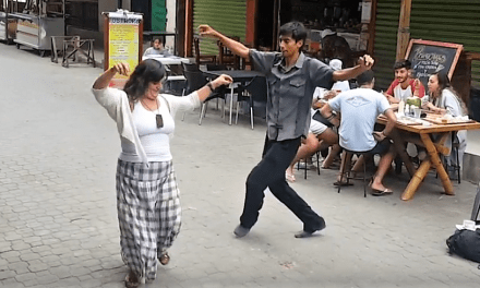 Living in Ecuador- Dancing in the Streets