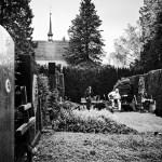 «GRABER: Letzte Worte – Konzerte für die Toten» auf dem Friedhof Enzenbühl, 24. Juni 2020. Foto: Corinne Koch