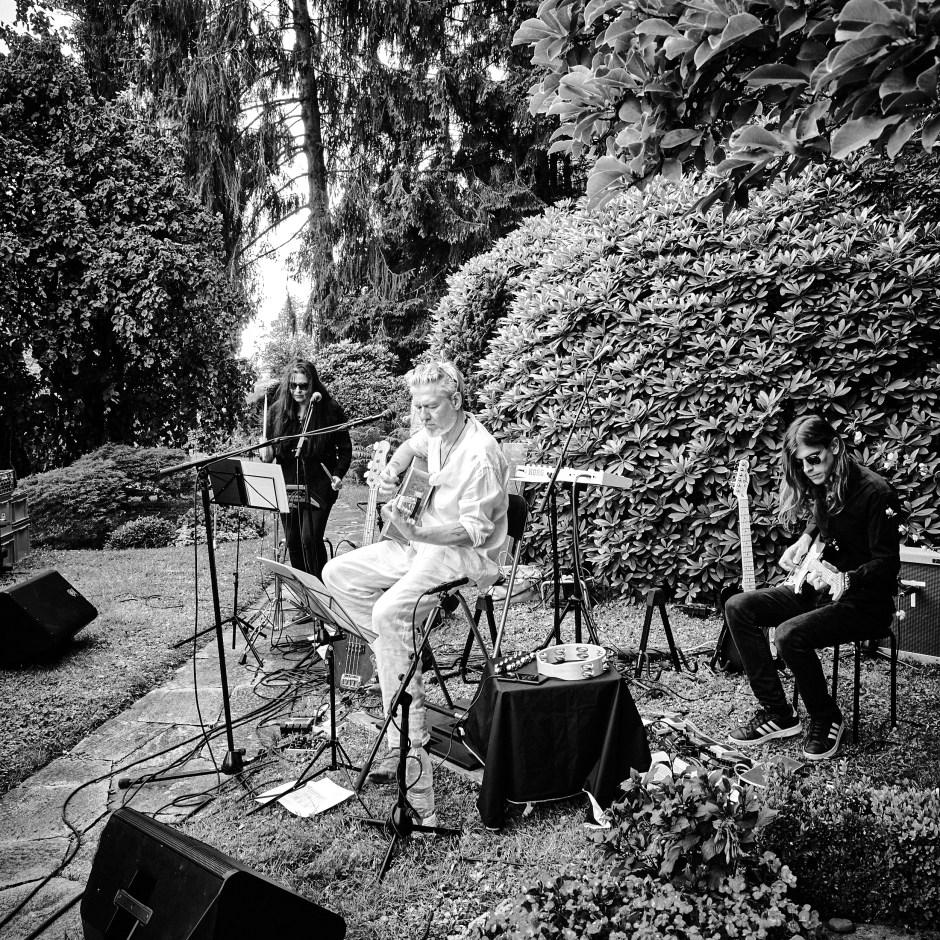 «GRABER: Letzte Worte - Konzerte für die Toten» auf dem Friedhof Fluntern am 25. Juni 2020. Foto: Corinne Koch